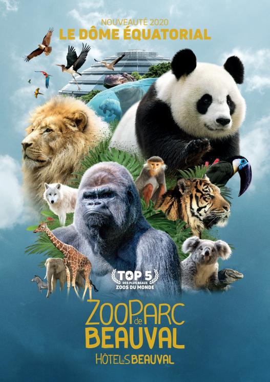 Affiche Officielle - ZOO DE BEAUVAL 2020